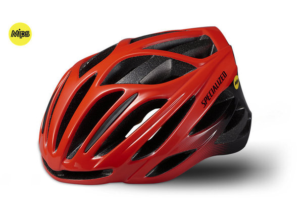 Specialized Bike - Helm Echelon Mips rot