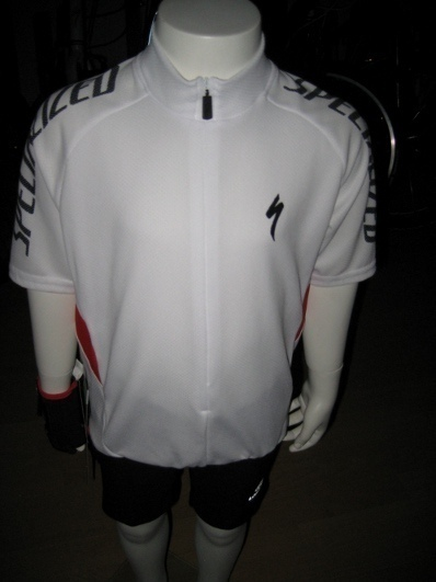 Specialized Kinder Radtrikot Solid weiss Gr. L