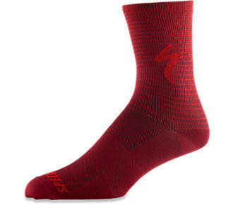Specialized Radsocke Soft Air Tall Red