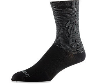 Specialized Radsocke Soft Air Tall Black